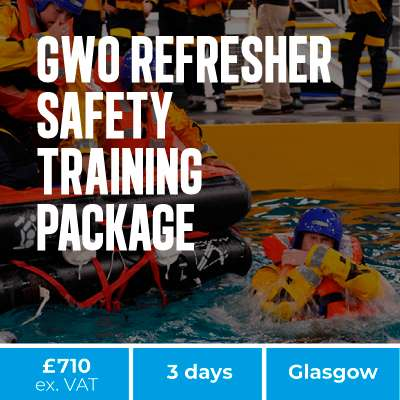 GWO refresher safety training image homepage