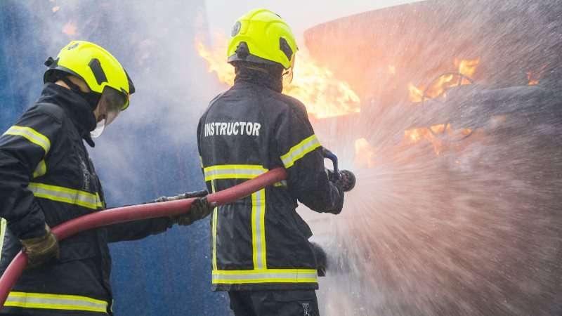 STCW ADVANCED FIRE FIGHTING PHOTO